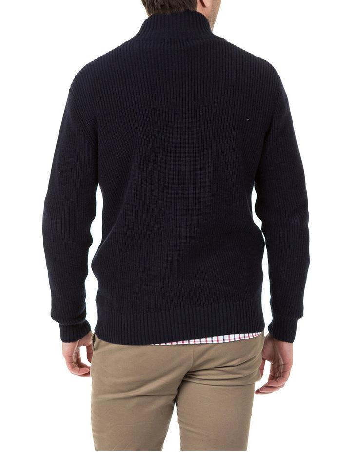 Clark Full Zip Cotton Sweater image 3