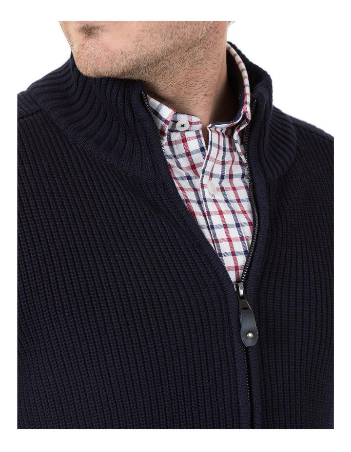 Clark Full Zip Cotton Sweater image 4