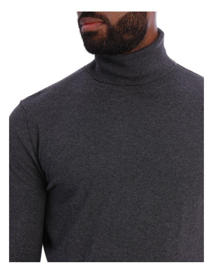 Cotton Blend Roll Neck Knit image 4