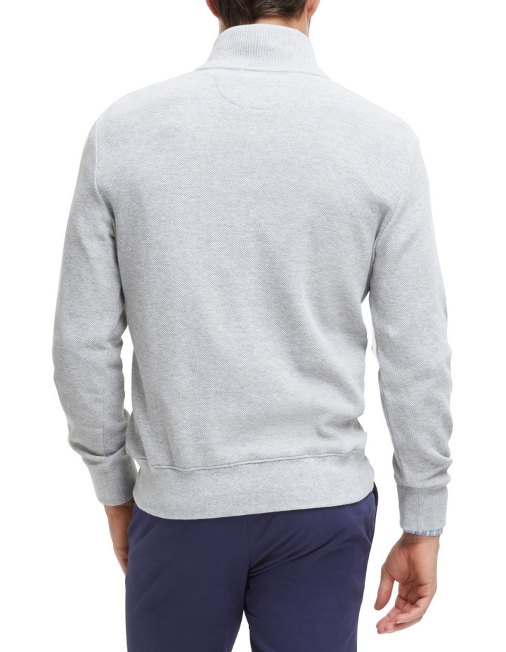 Russell 1/2 Zip Textured Knit image 3