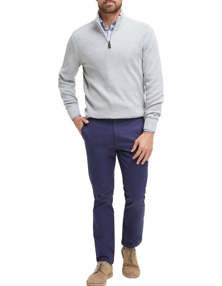 Russell 1/2 Zip Textured Knit image 4