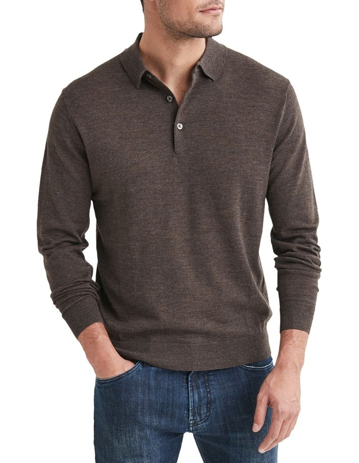 Lucas Merino Polo Neck Knit image 1