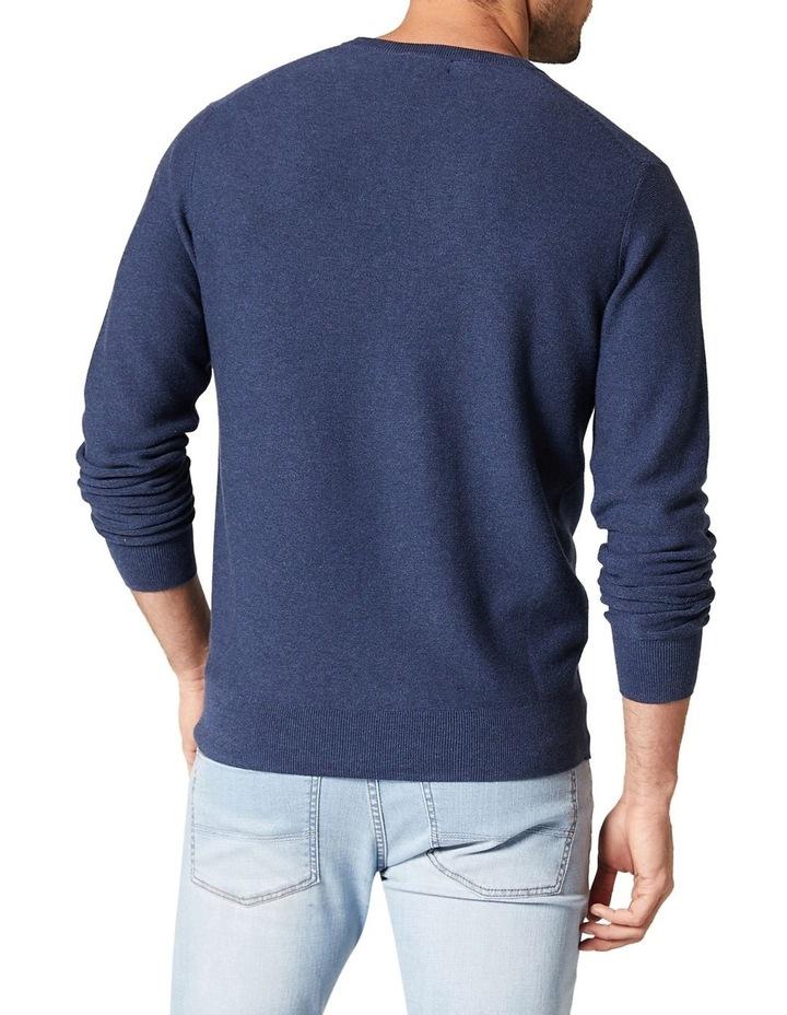 Mason Textured Cotton Crew Knit image 2