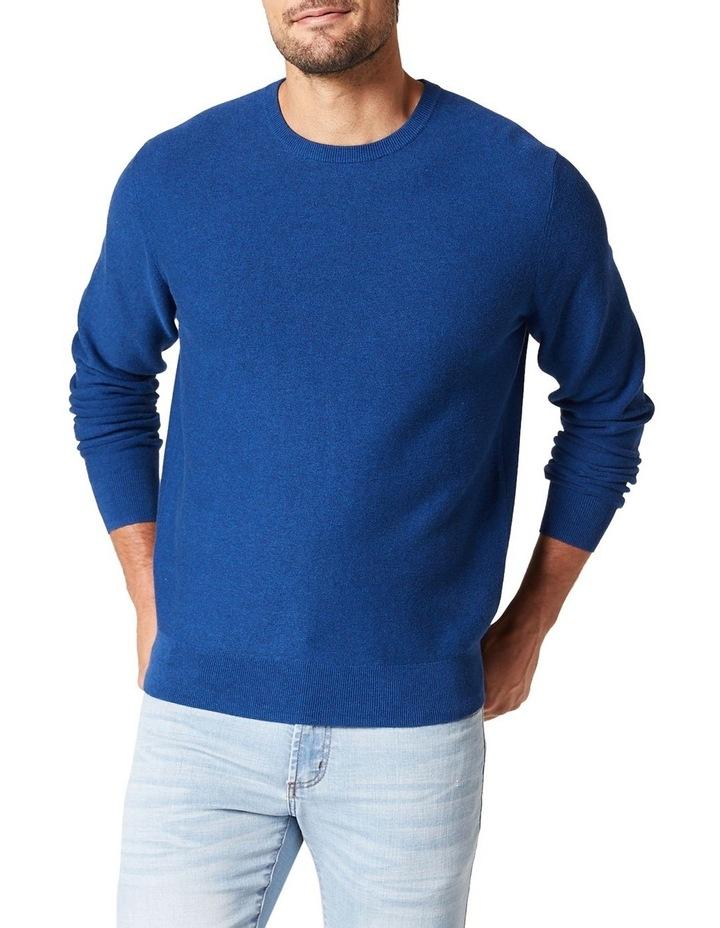 Mason Textured Cotton Crew Knit image 1