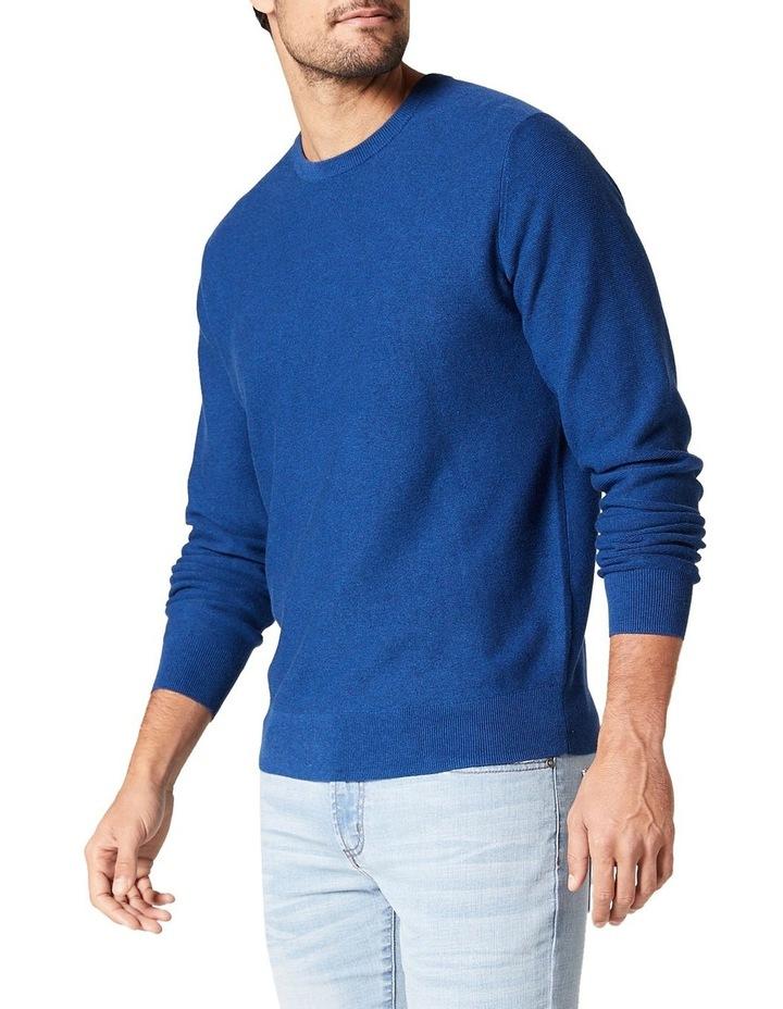 Mason Textured Cotton Crew Knit image 3