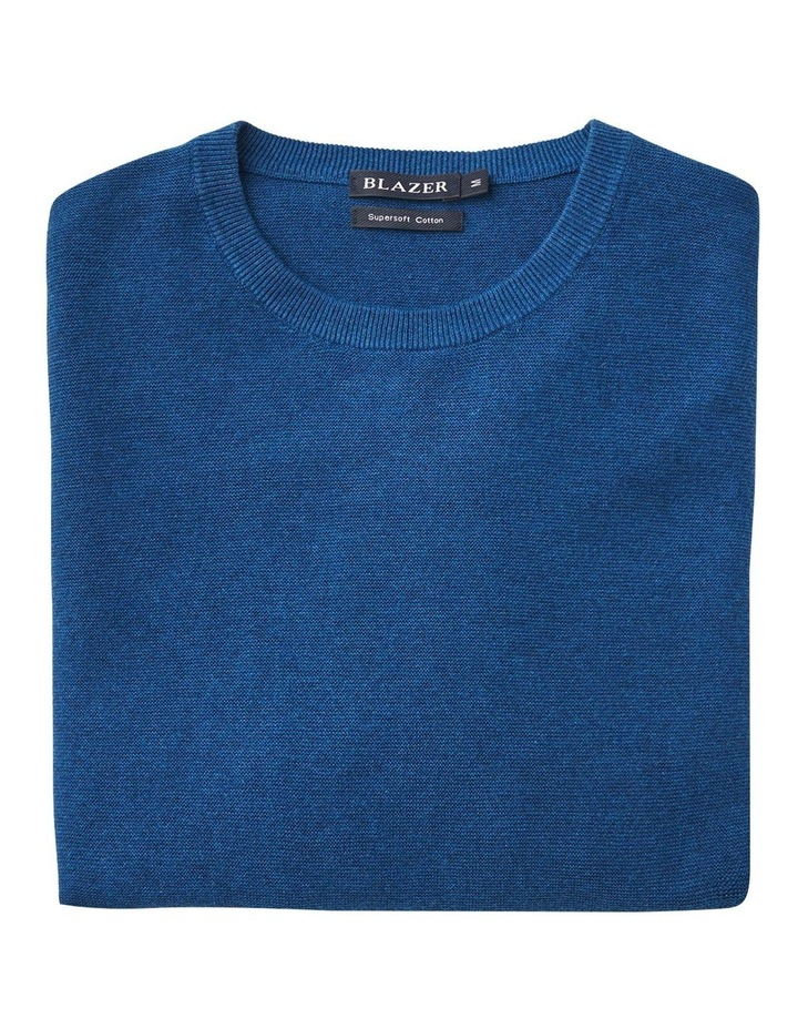 Mason Textured Cotton Crew Knit image 4