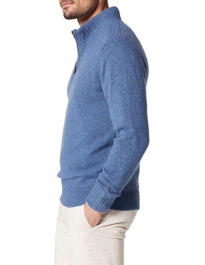 Hamish Wool Blend 1/2 Zip Knit image 3
