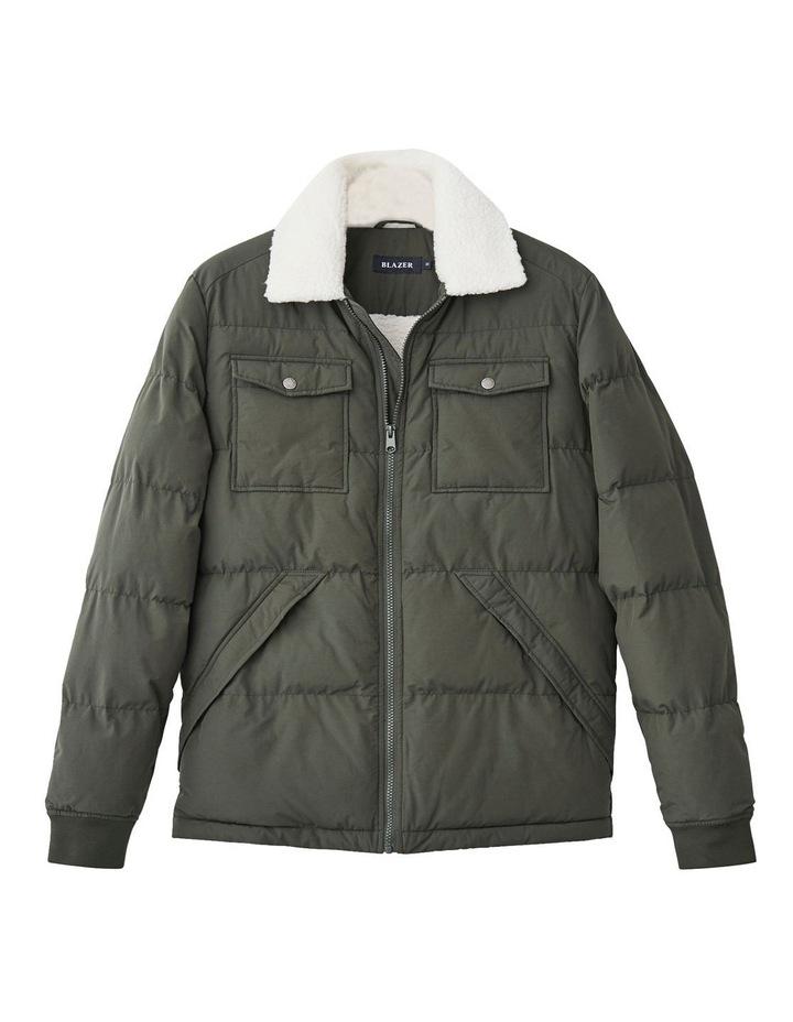 Bellamy Sherpa Puffer Jacket image 4