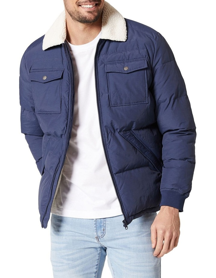 Bellamy Sherpa Puffer Jacket image 3