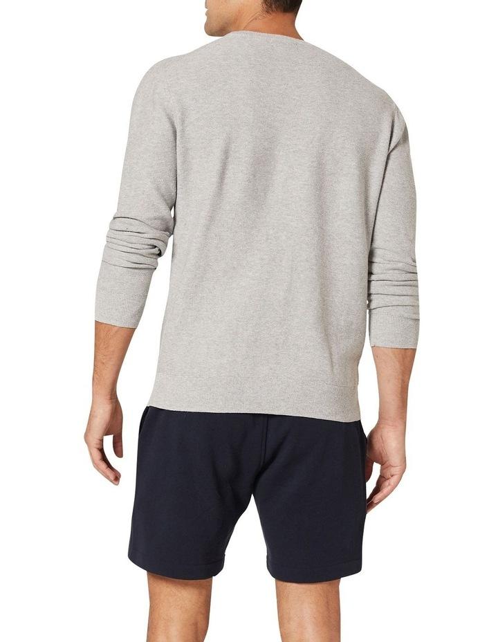 Mason Cotton Crew Neck Knit Grey image 2