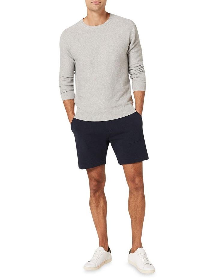Mason Cotton Crew Neck Knit Grey image 3