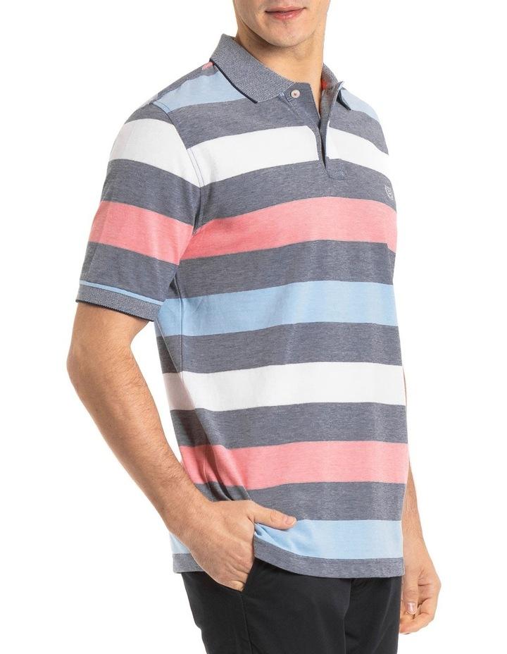 Miles Oxford Stripe Polo image 2