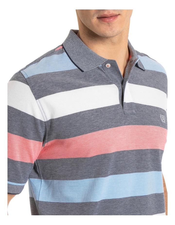 Miles Oxford Stripe Polo image 4