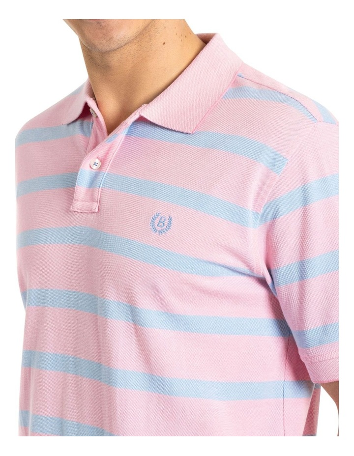 Easton Oxford Stripe Polo image 4