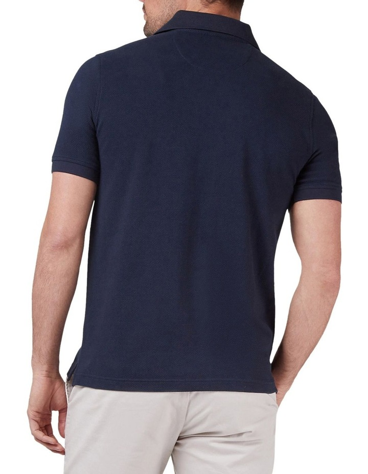 Carter Textured Short Sleeve Polo image 2