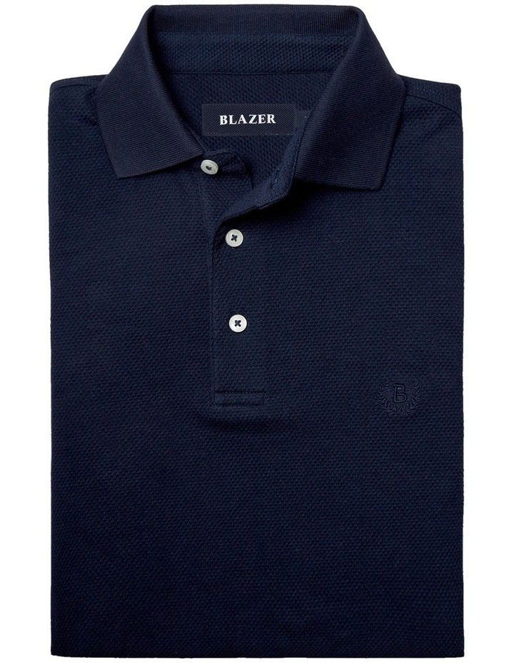 Carter Textured Short Sleeve Polo image 5
