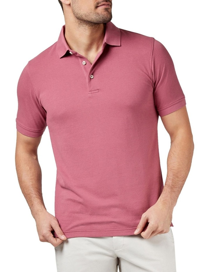 Carter Textured Short Sleeve Polo image 1