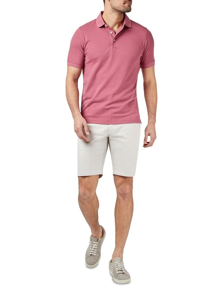 Carter Textured Short Sleeve Polo image 3