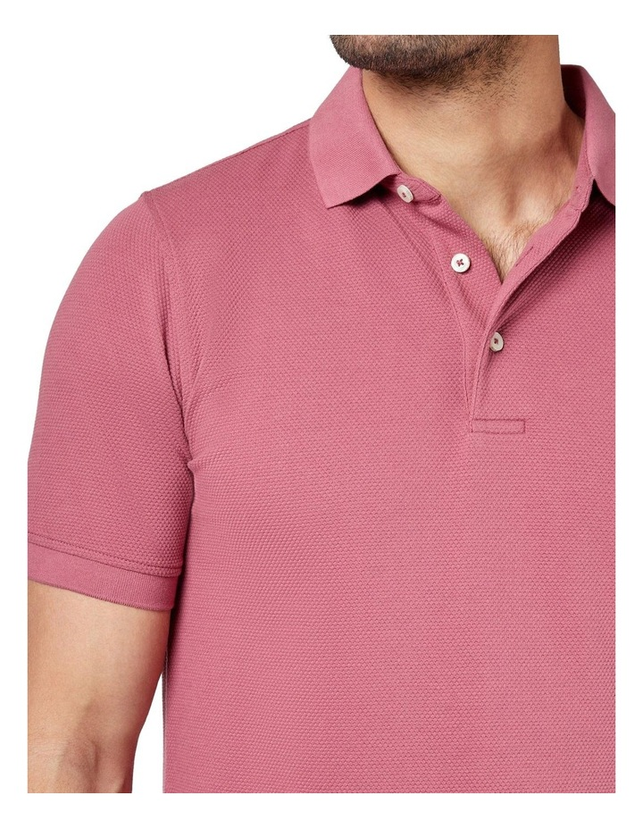 Carter Textured Short Sleeve Polo image 4