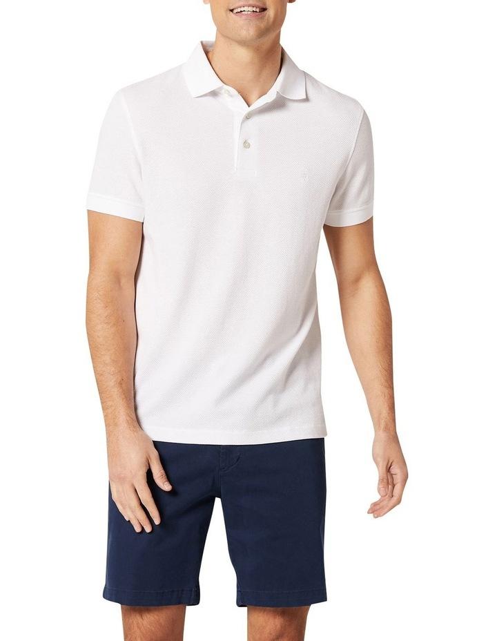 Carter Textured Short Sleeve Polo image 1