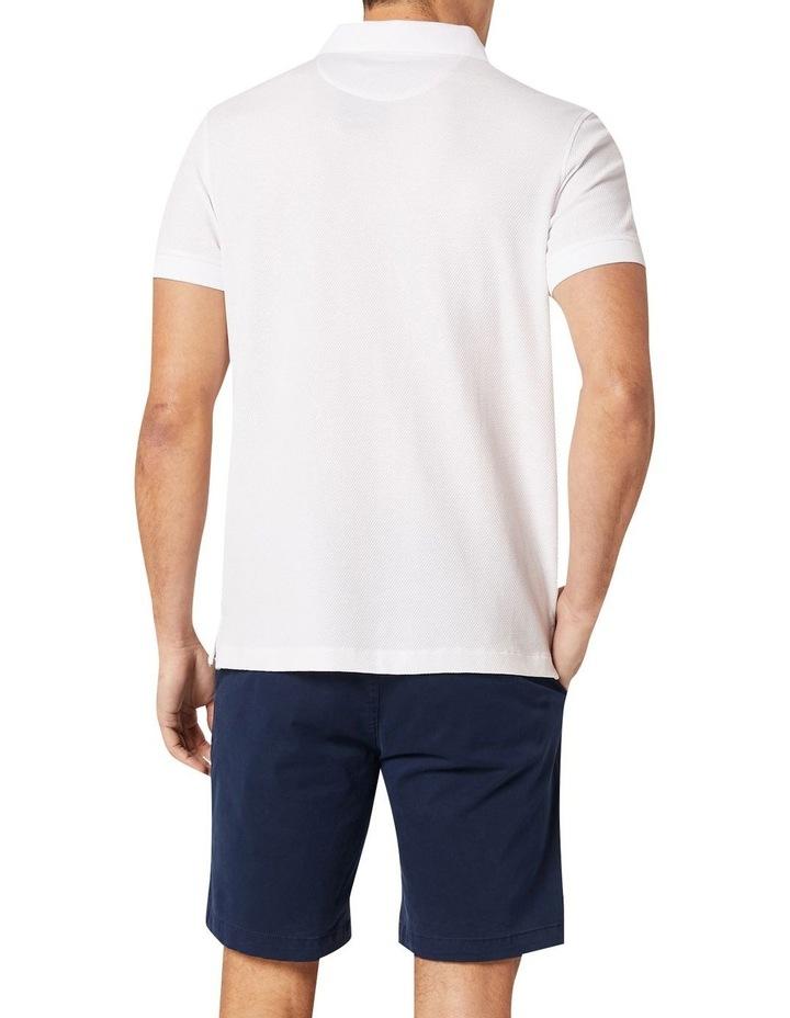 Carter Textured Short Sleeve Polo image 2