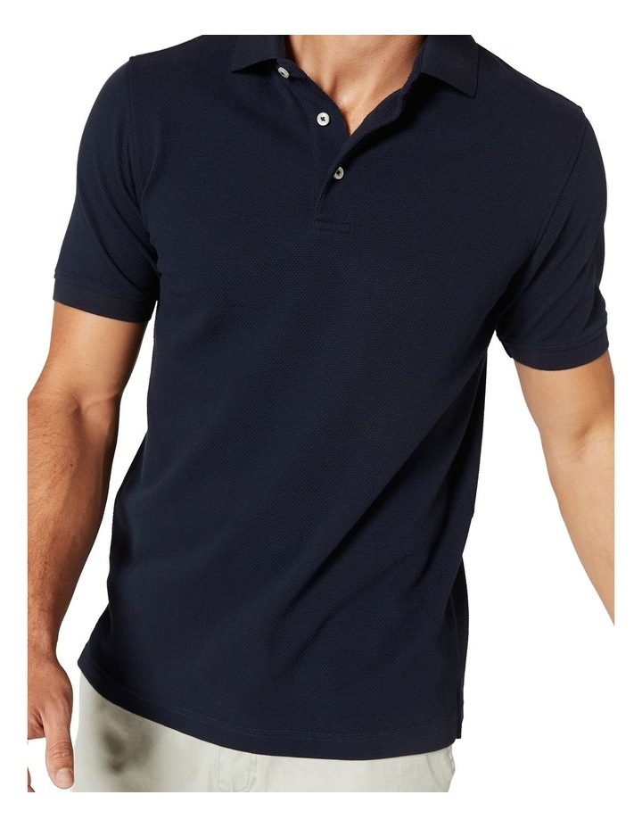 Carter Textured Short Sleeve Polo image 4