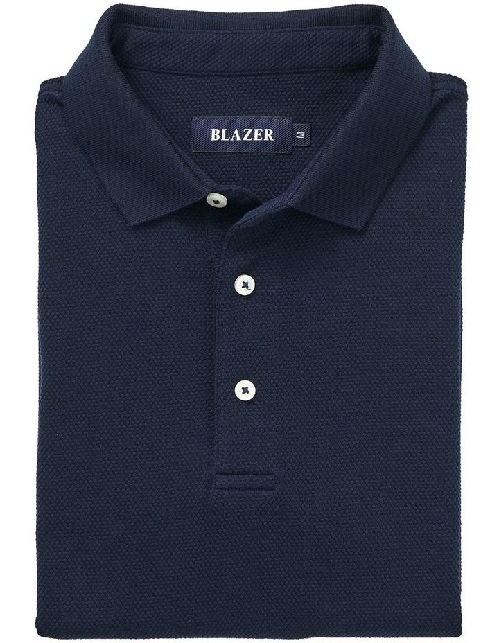 Carter Textured Short Sleeve Polo image 5