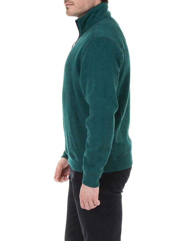 Heather 1/2 Zip Sweater image 2