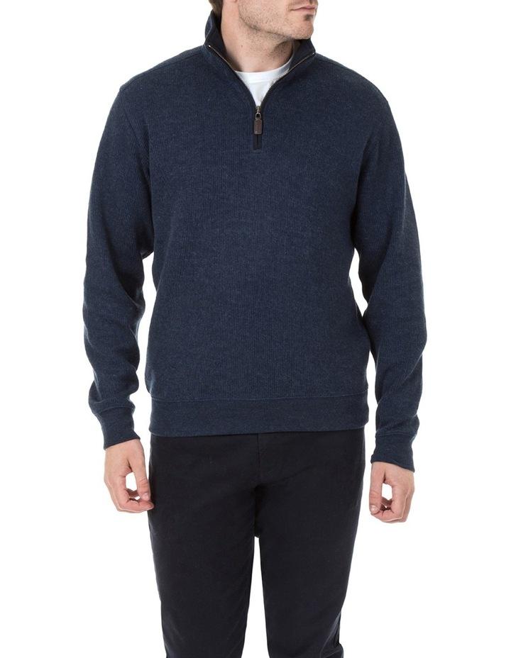 Heather 1/2 Zip Sweater image 1