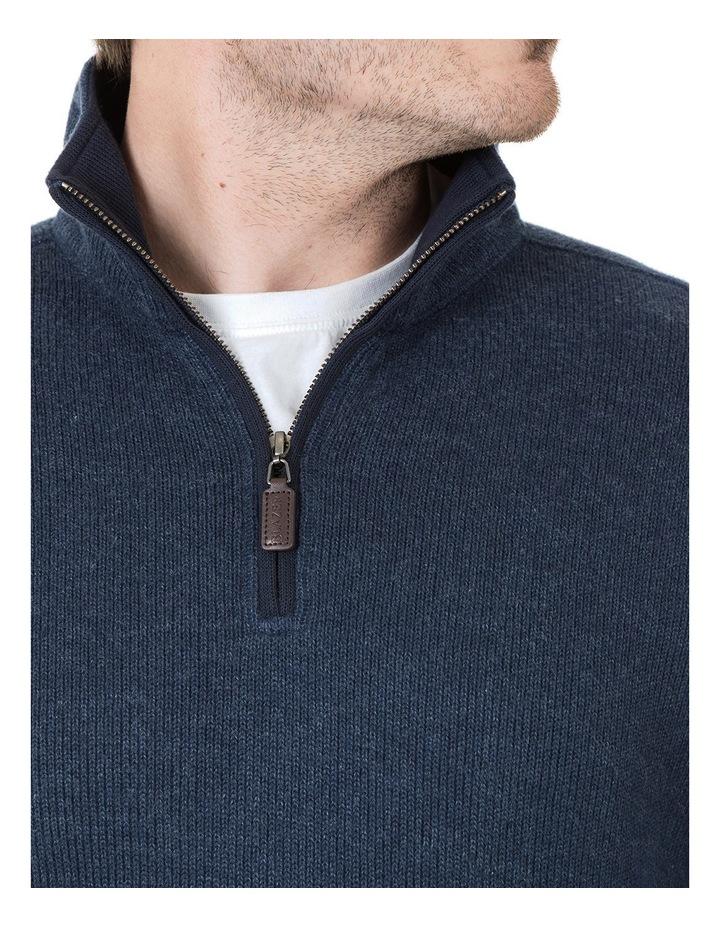 Heather 1/2 Zip Sweater image 4
