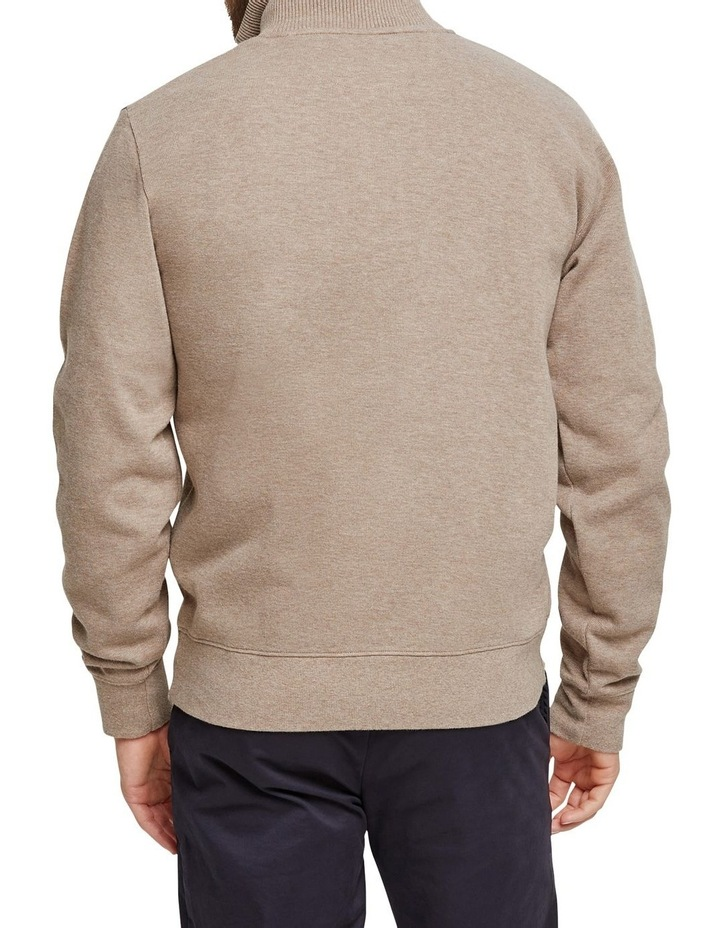 French Rib 1/2 Zip Sweat image 3