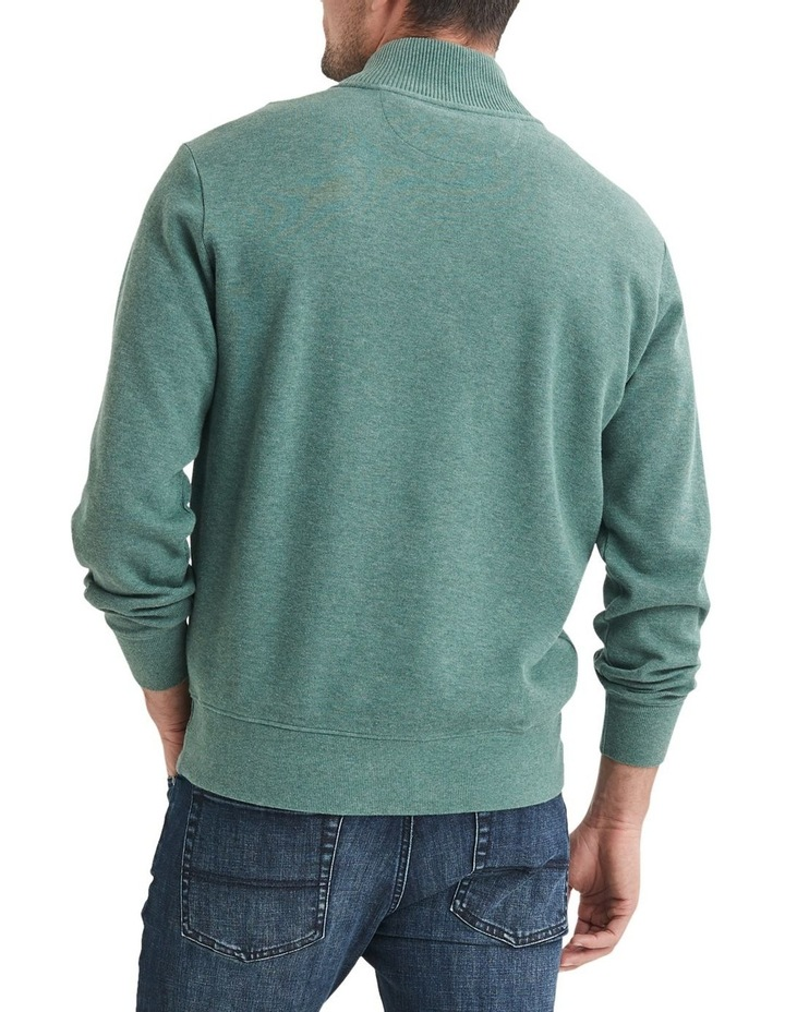 1/2 Zip French Rib Sweater image 2