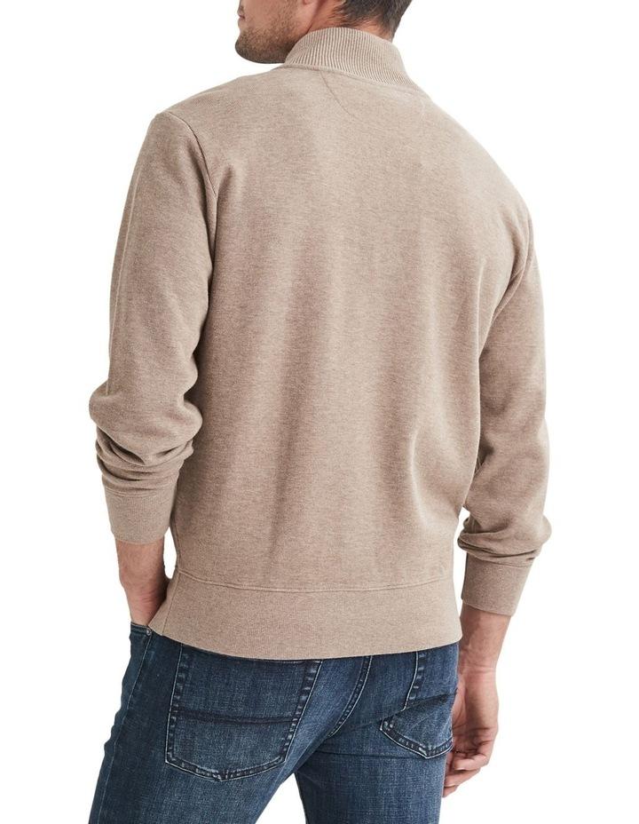 1/2 Zip French Rib Sweater image 2