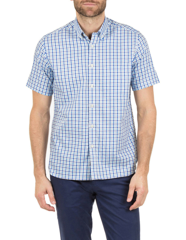 Hudson Short Sleeve Check Shirt image 1