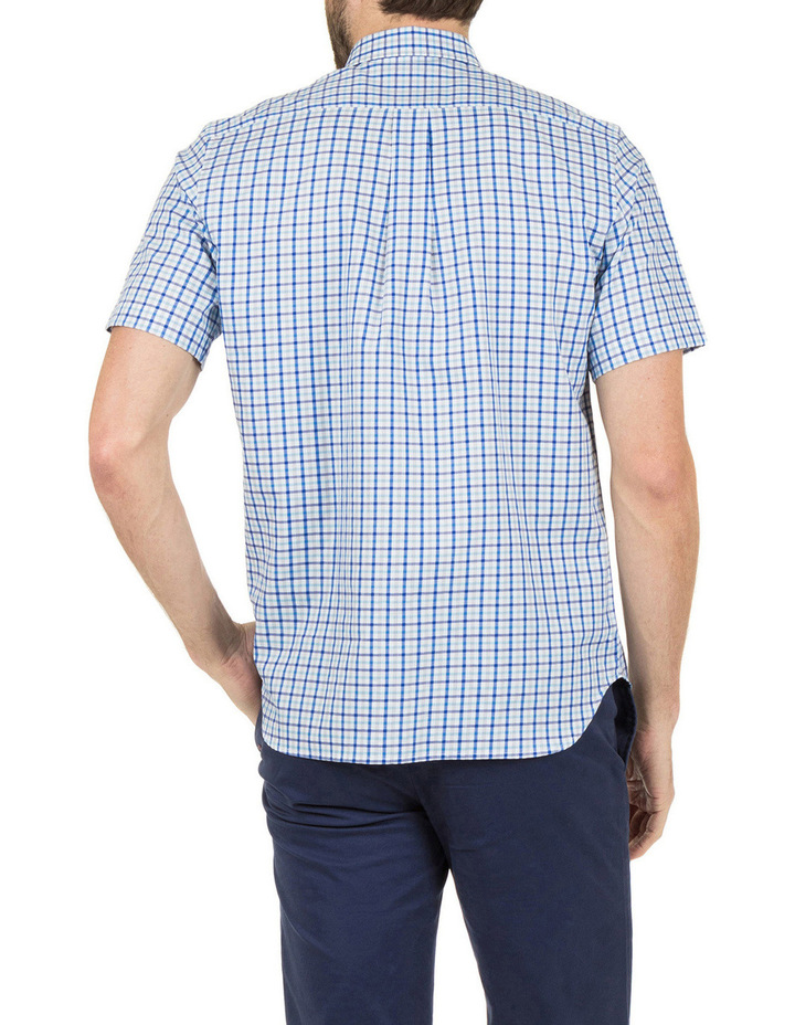 Hudson Short Sleeve Check Shirt image 3