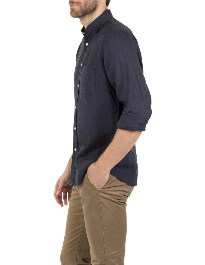 Cooper Long Sleeve Linen Shirt image 2