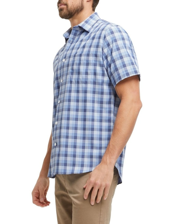 Carl Short Sleeve Soft Touch Check Shirt image 2