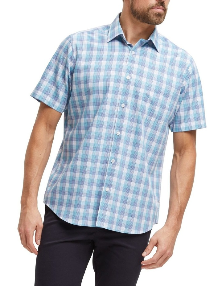 Carl Short Sleeve Soft Touch Check Shirt image 1