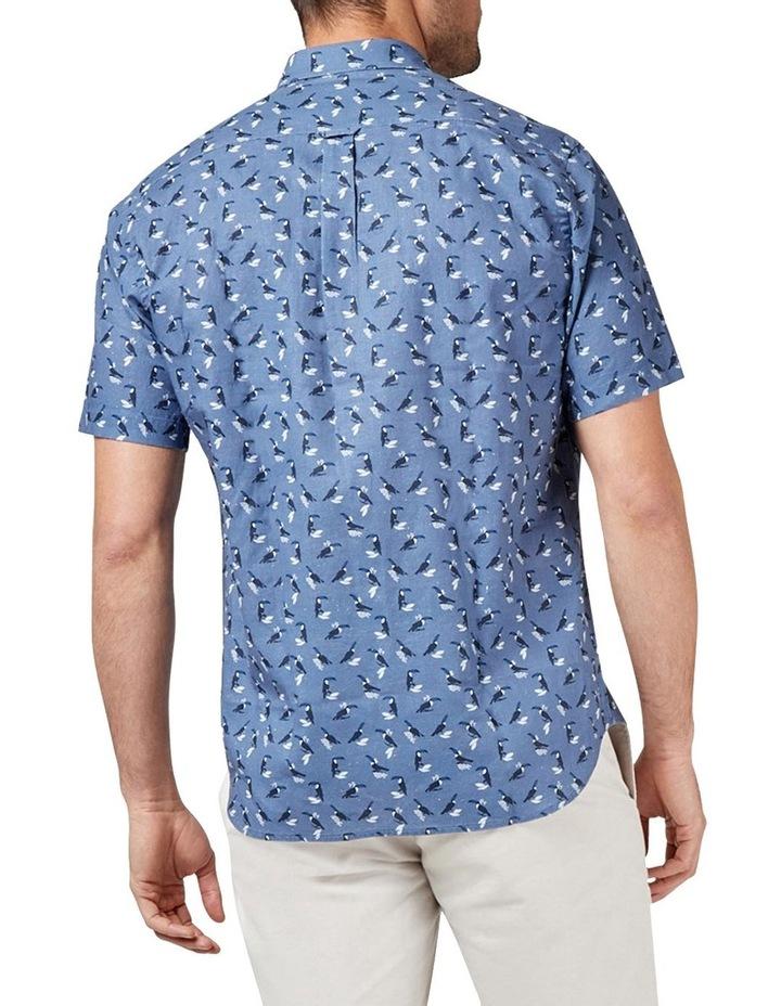 Max Short Sleeve Cotton Linen Print Shirt image 2
