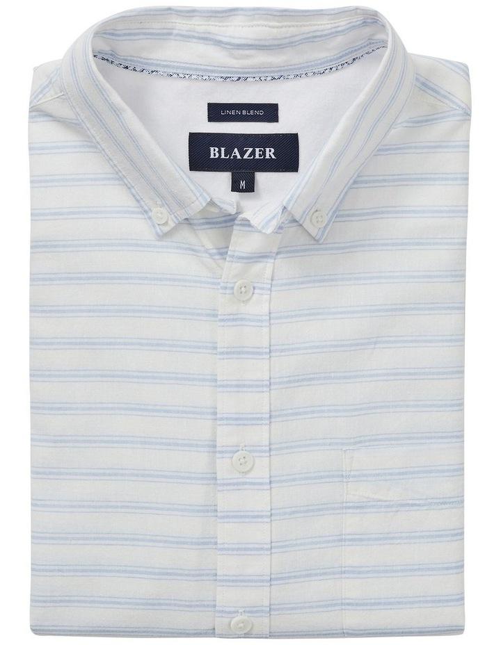 Xander Short Sleeve Stripe Shirt image 5