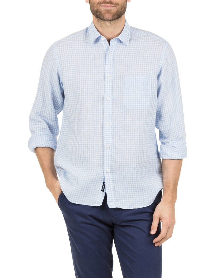 David Long Sleeve Linen Shirt image 1