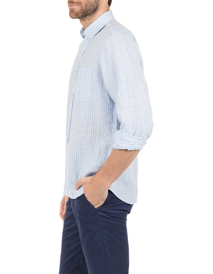 David Long Sleeve Linen Shirt image 2