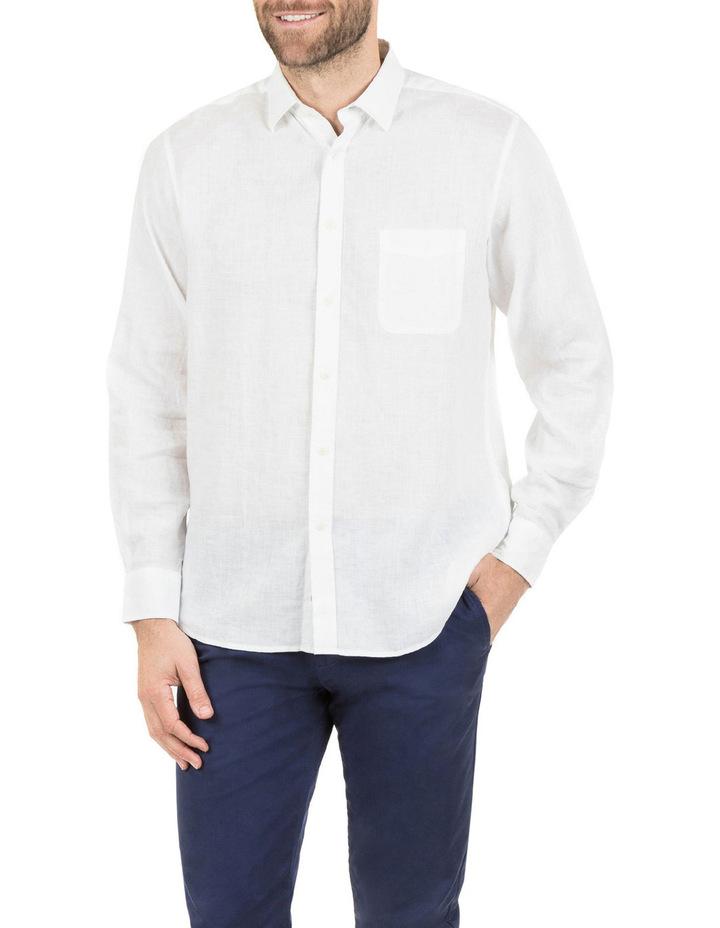 Cooper Long Sleeve Linen Shirt image 1