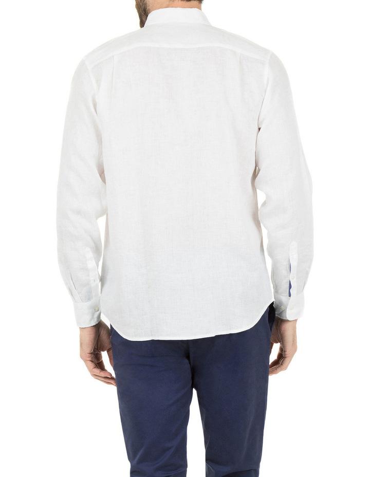 Cooper Long Sleeve Linen Shirt image 3