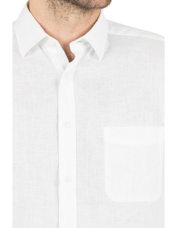 Cooper Long Sleeve Linen Shirt image 4