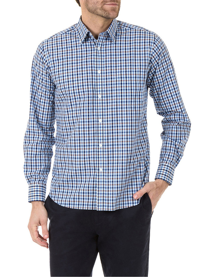 Daniel Long Sleeve Check Shirt image 1