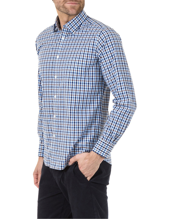 Daniel Long Sleeve Check Shirt image 2