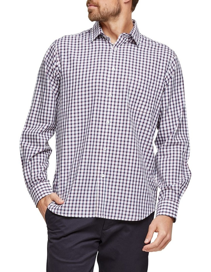 Xavier Long Sleeve Check Shirt image 1