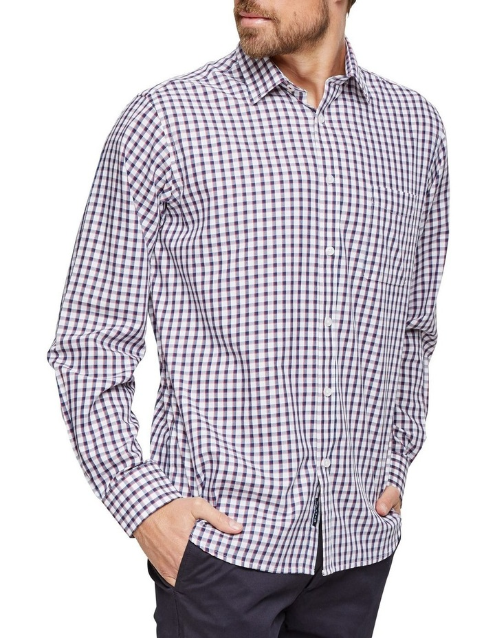 Xavier Long Sleeve Check Shirt image 2