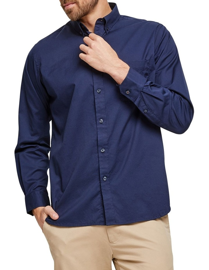 Keith Long Sleeve Plain Shirt image 1